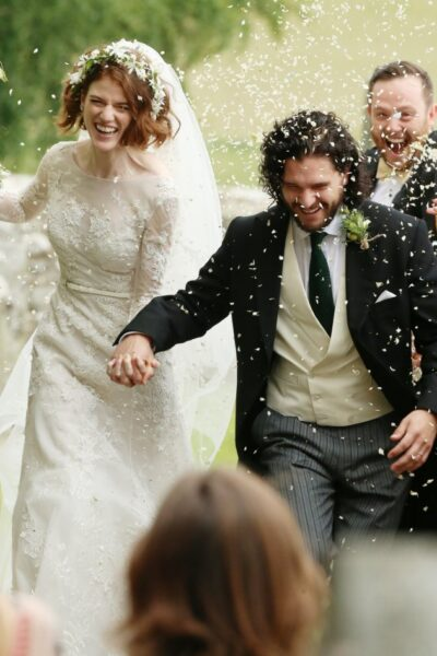 The NEW Mr. & Mrs. Snow